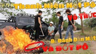 [Vlog14] Cái Kết Cho Thanh Niên Nẹt Pô Khiêu Khích   Ý Thức Đi Pô Độ   Tài Pô Độ   0947.22.1234