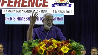 Writer Adhavan Theetchanya @ Acupuncture healers conference