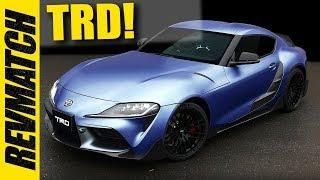 2020 Toyota Supra - TRD Mods!