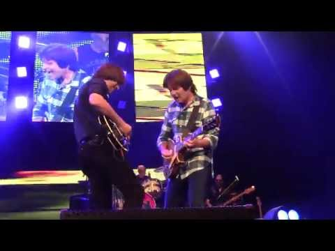 John Fogerty Shane Fogerty Trade Solos on The Old Man Down The Road