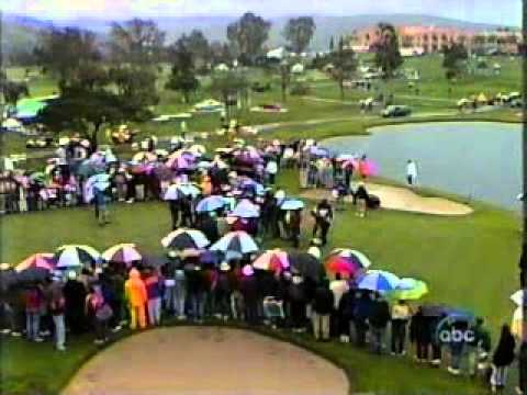 1997 Mercedes Championships golf - Sunday broadcast edited - Tom Lehman vs Tiger Woods