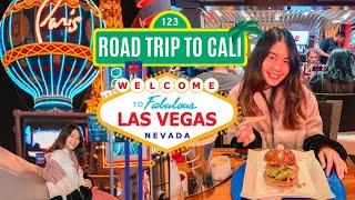 กินเบอร์เกอร์จาก Gordon Ramsey ในเมืองแห่งบาป!   Road Trip 🚘 to Cali EP.4  🎰 Las Vegas, Nevada