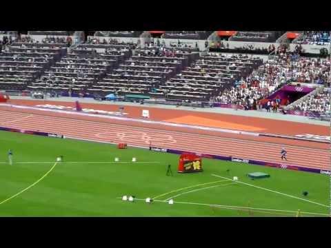 Olympics 2012 Slowest Runner Ever! 400m