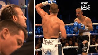 Corner Cam: What Ben Davison said to Billy Joe Saunders during and after his fight