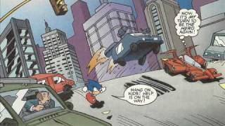 Sonic X Comic Issue 3