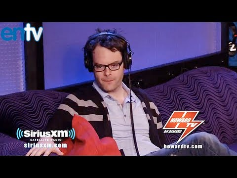 Bill Hader On Howard Stern Comparing SNL Guest Hosts