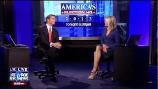 Martha Maccallum Tan Pantyhose Cleavage 11 06 12 HD