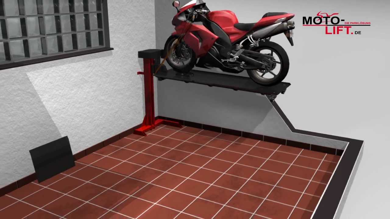 garage bike shop ideas - lift Motorcycle Lift Bikelift