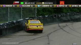 2011 Watkins Glen - Kurt Busch Crash