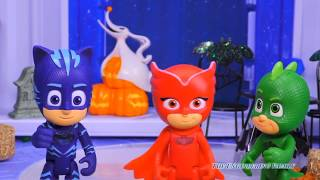 PJ Masks Transforms into Spooky Characters while at the Silly Haunted House