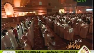إبداع الشيخ محمد اللحيدان في ختمة رمضان 1433