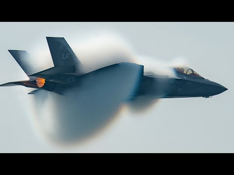 Awesome F-35 Lightning II Stealth Fighter Jet in Action