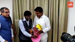 TRS Leaders Wishes KTR | TRS Working President | CM KCR | Telangana News | Harish Rao