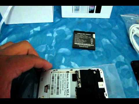 Air Phone 4 Unboxing.wmv