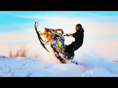 Snowmobile Tuesday!