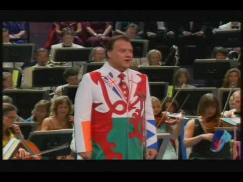 Bryn Terfel sings Rule Britannia