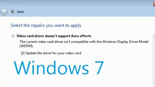 video card driver doesn