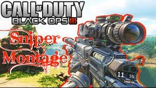 300 Highscore - A Black Ops 3 Sniper Montage [ PS4 Share Factory  ] BO3 Sniper Killfeed