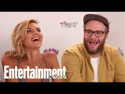 Seth Rogen: Future Man Is 'Comedy With Real Life-Or-Death Stakes'   SDCC 2017   Entertainment Weekly streaming vf