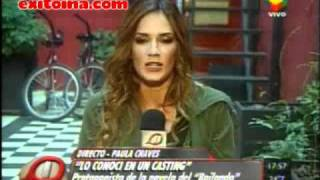 Exitoina.com - Paula Chaves en Intrusos