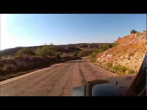 Ride Along through Caprock Canyon State Park