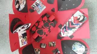 Love explosion box #Valentine day special