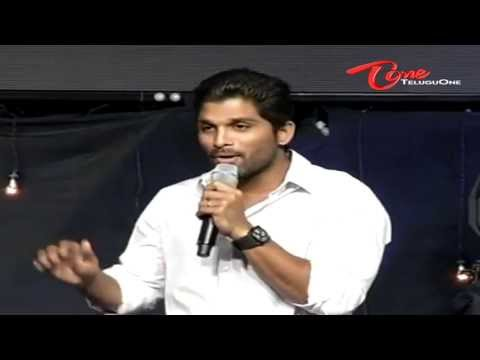 Allu Arjun Introduces Sirish to Mega Fans