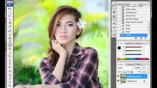 Tips Edit Photoshop. Foto Model