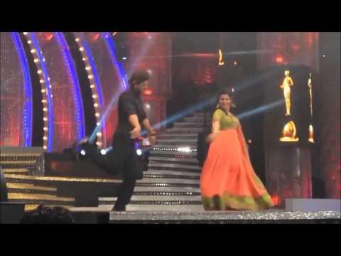 Vijay Awards 2014 DD and Sharuk Khan dancing for thaiya thaiya...