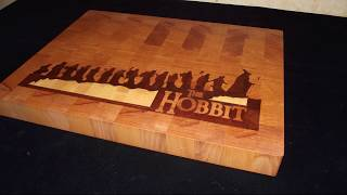 Бизнес ЧПУ: разделочная достка Hobbit