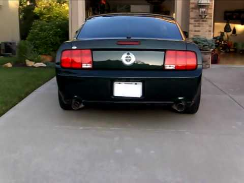 Ford Racing FR500 Exhaust On Mustang Bullitt