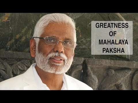 Greatness Of Mahalaya: Special Hangout With Dr. Pillai video