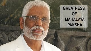 Greatness of Mahalaya: Hangout with Dr. Pillai on Sept 7th at 10.30 PM, IST