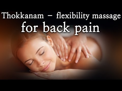 Thokkanam -- flexibility massage for back pain - Red Pix 24x7