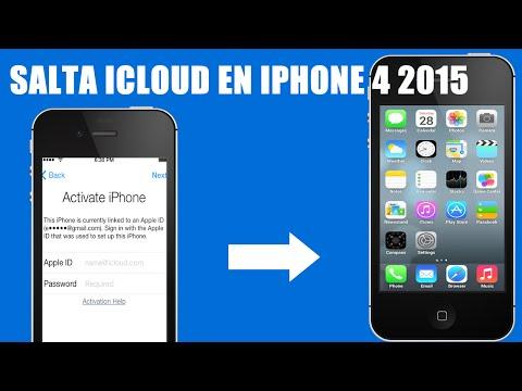 COMO SALTAR ICLOUD EN //IOS 7.1.2 // IPHONE 4 (SOLO IPHONE 4)OCTUBRE 2014
