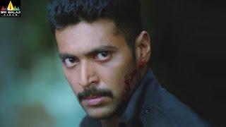 Jayam Ravi Action Scenes Back to Back   Telugu Movie Fight Scenes   Sri Balaji Video