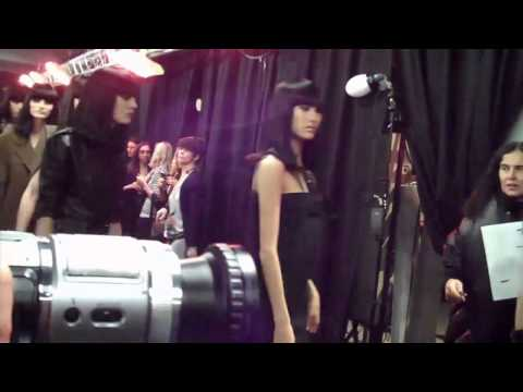 Lanvin F/W 2010 - backstage / show - youtube