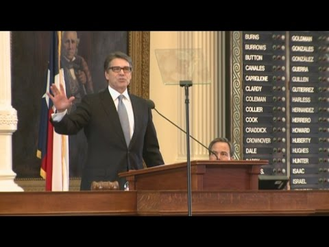 Full Speech: Gov. Rick Perry gives historic farewell speech