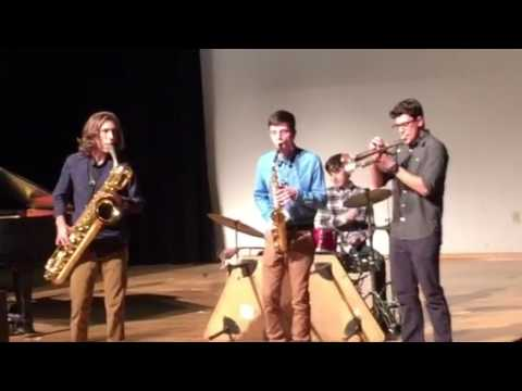 Nick Grubb Playing Sax at Athens Academy Talent Show