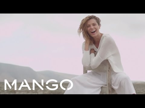 Daria Werbowy for MANGO Spring 2014 - The making of