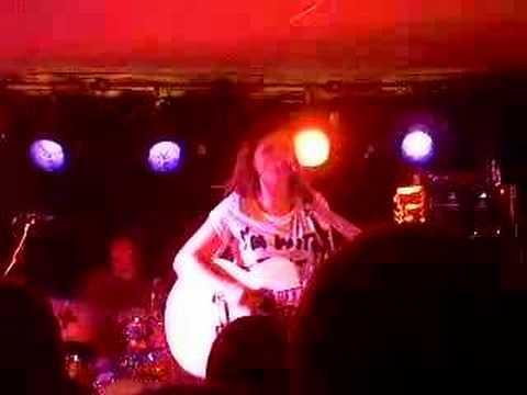 Amy Macdonald Aberdeen lemon tree 6/10/07