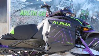 2019 Arctic Cat Snowmobile Sneak Peek