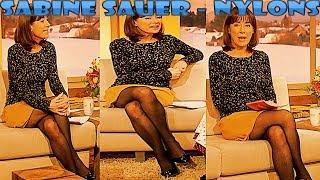 Sabine Sauer FullHD Nylons Pantyhose Collant Strumpfhose on BR Wir in Bayern