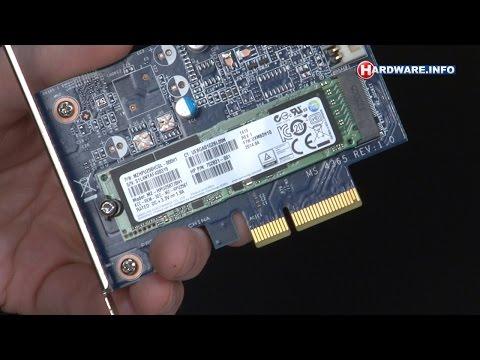 Samsung XP941 M.2 PCI-Express SSD review - Hardware.Info TV (Dutch)