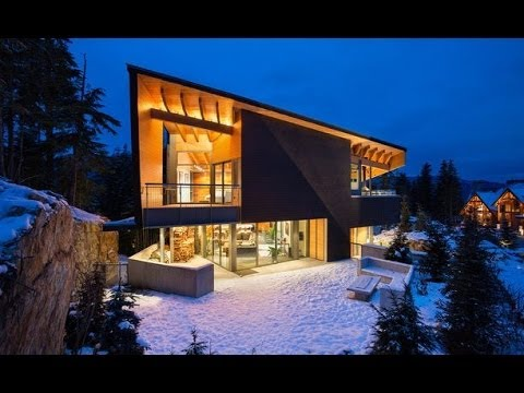 Dream Homes Whistler Luxury Cabin With Private Gondola YouTube