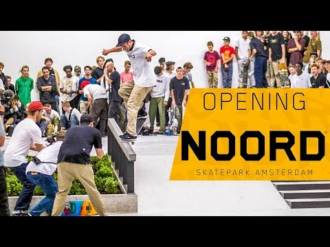 Opening Skatepark ''Noord'' Amsterdam + Nike SB Demo (Grant Taylor, Carlos Ribeiro, Sean Malto)