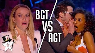 TOP 10 BEST Magicians | BGT18 VS AGT17 | Magicians Got Talent