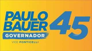 Jingle Paulo Bauer 2014 | Governador  SC - Letra