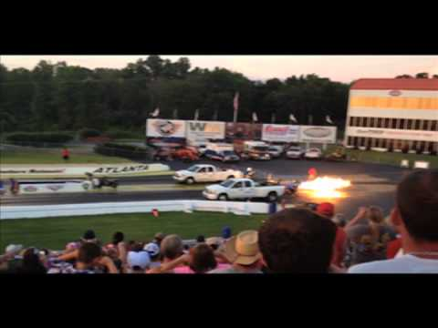 Atlanta Dragway  Night Of Fire 2013