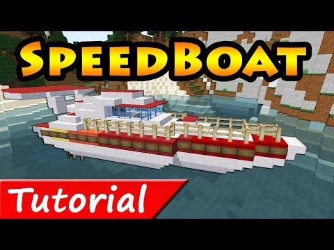 Minecraft: Speed Boat Tutorial + Download /